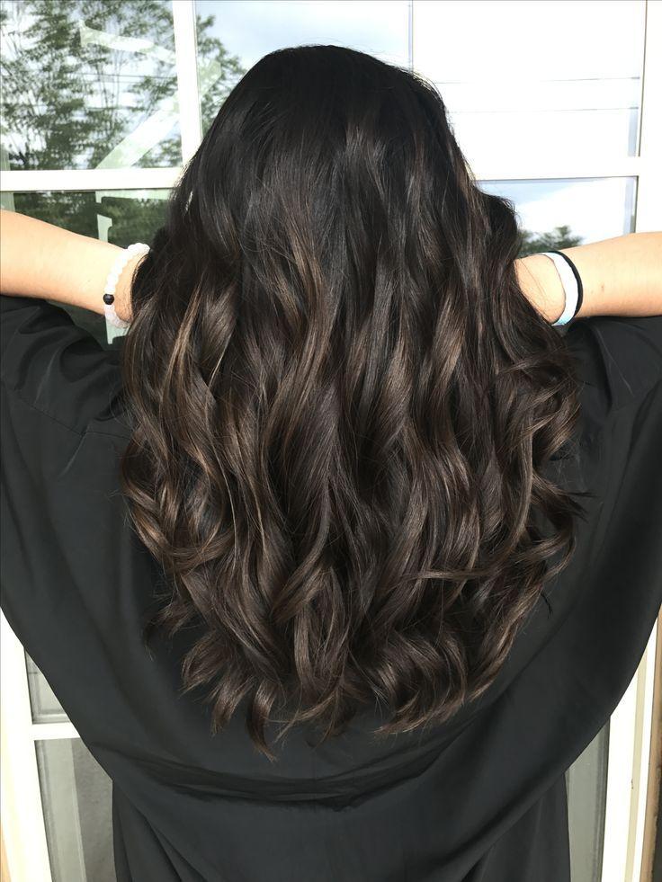 Image Result For Ash Highlights On Black Hair Highlights