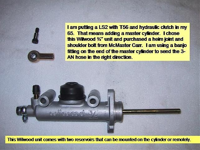 Hydraulic Clutch Conversion 1965C10 - The 1947 - Present ...