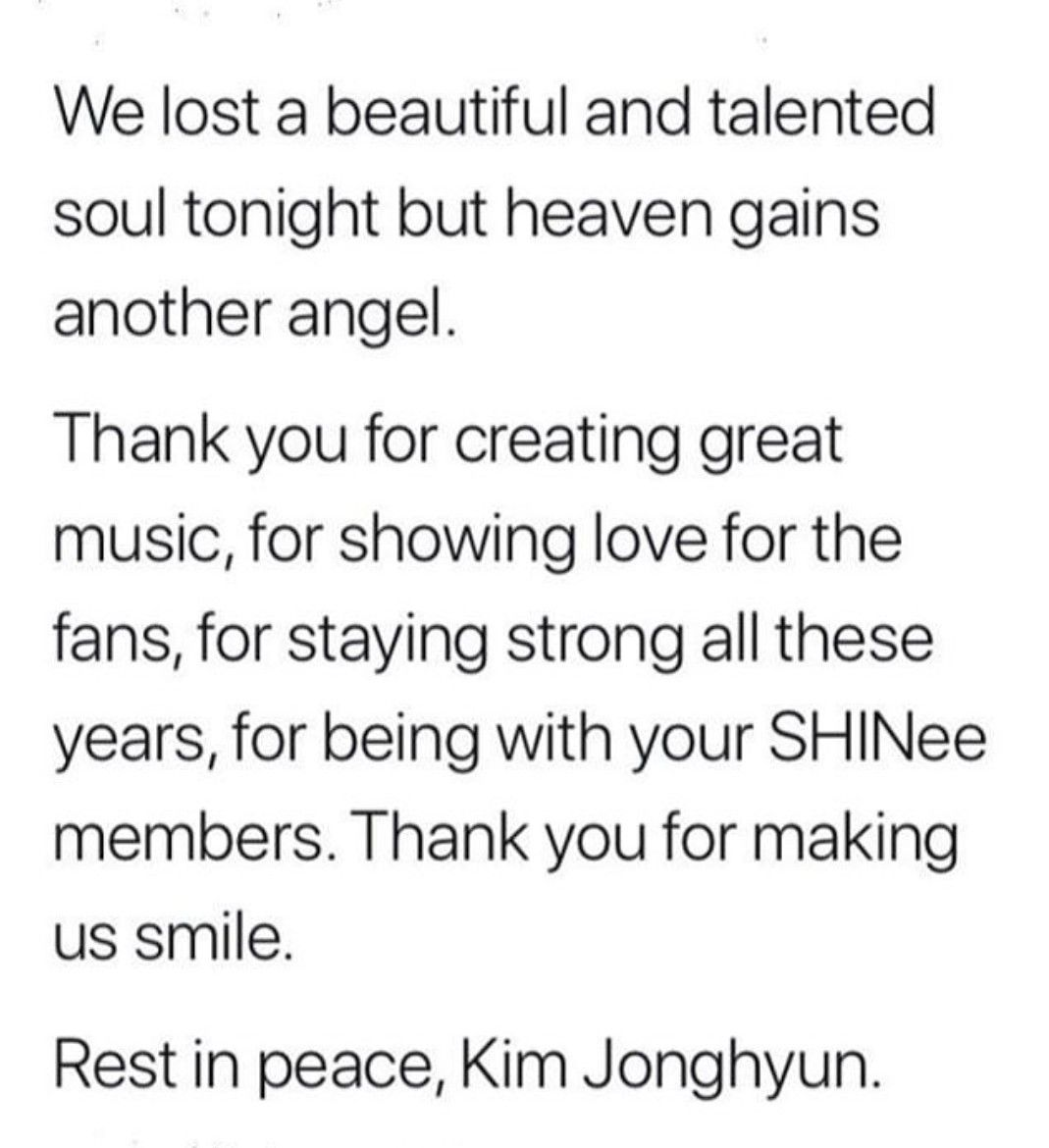 RIP #KIM_JONGHYUN I'm Gonna Die From Sadness (With Images