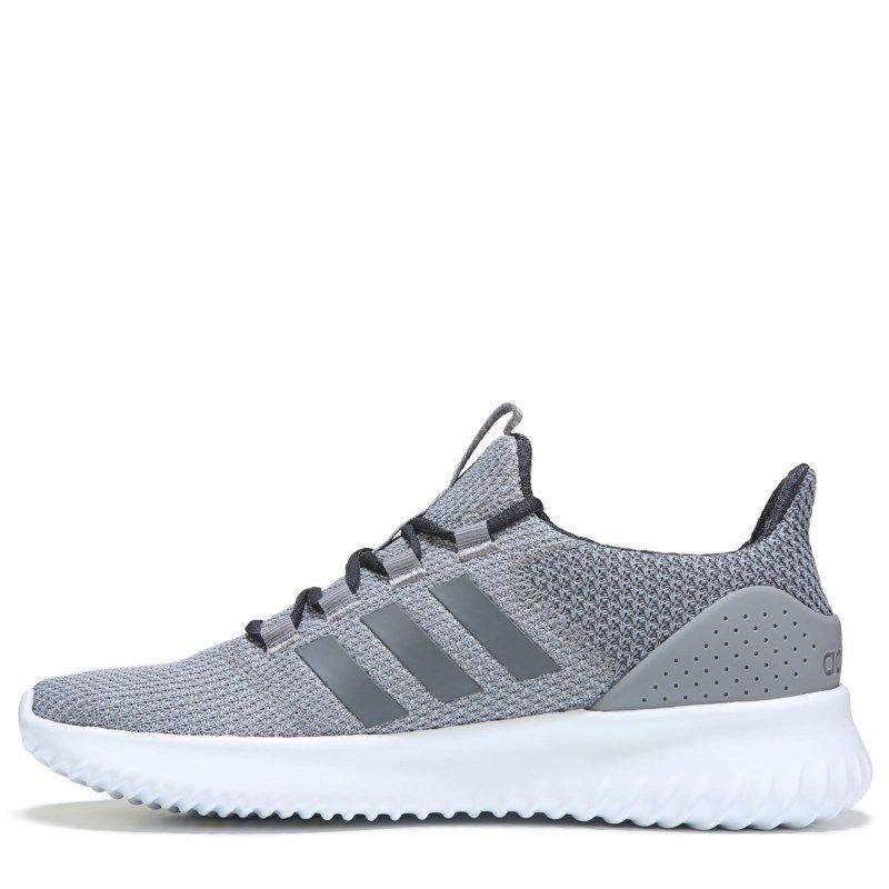 Adidas Men s Neo Cloudfoam Ultimate Sneakers (Grey Carbon White) fc095e4f7