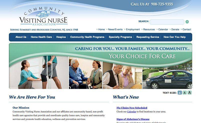 Nj Web Design Nj Logo Design Website Design New Jersey Nj Graphic Designer New Jersey Logo Design Graph Medical Marketing Home Health Care Health Programs