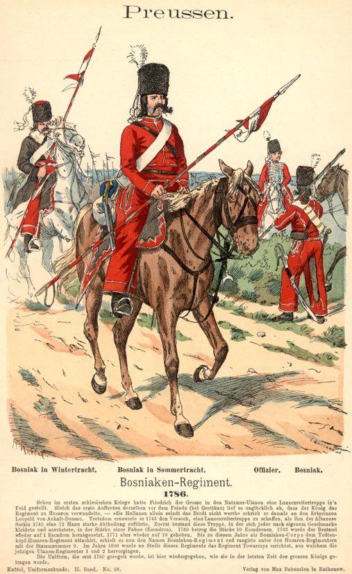 Bosniak Corps Wikipedia | Preußen, Uniform und Ritter