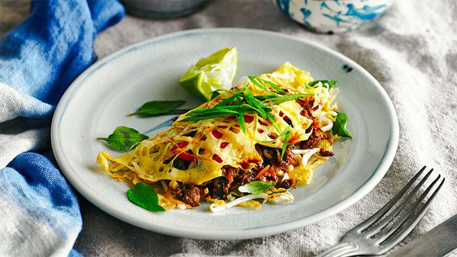 Thai beef lace pancake yummo recipes i love - Better homes and gardens pancake recipe ...