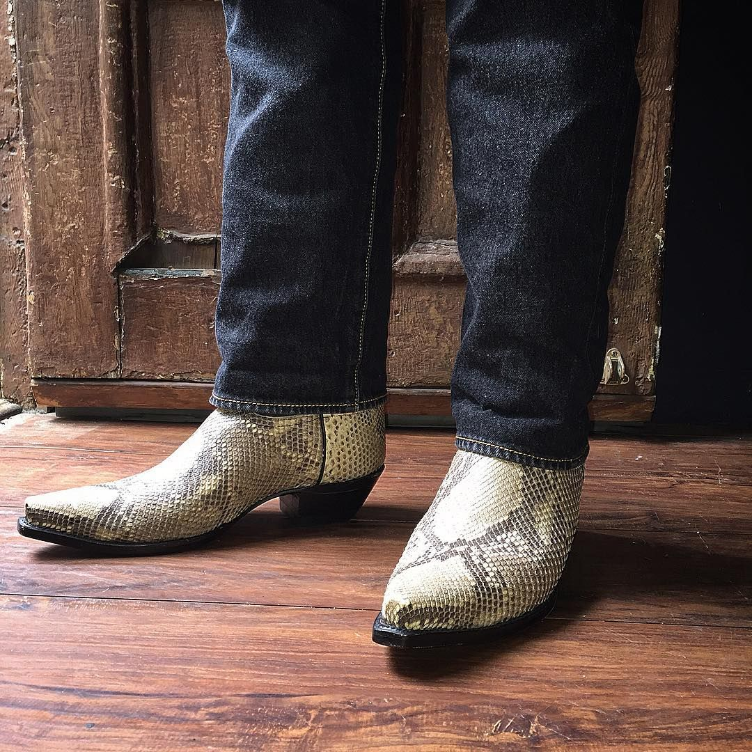 boots | Boots, Mens snakeskin