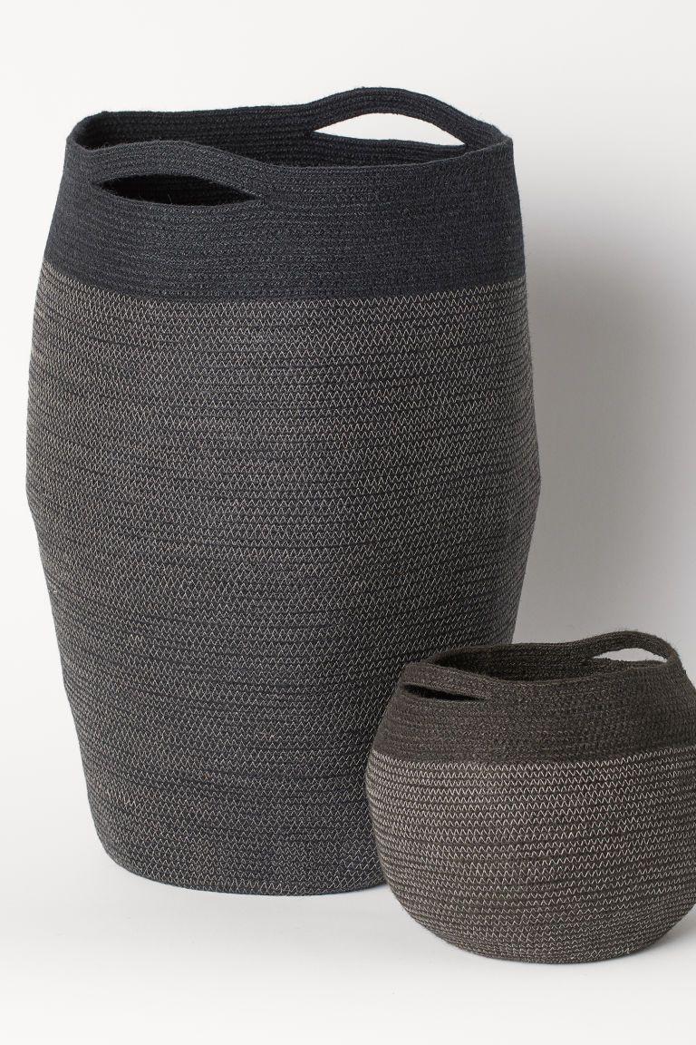 Jute Laundry Basket Dylan Gifts In 2019 Grey Laundry Basket