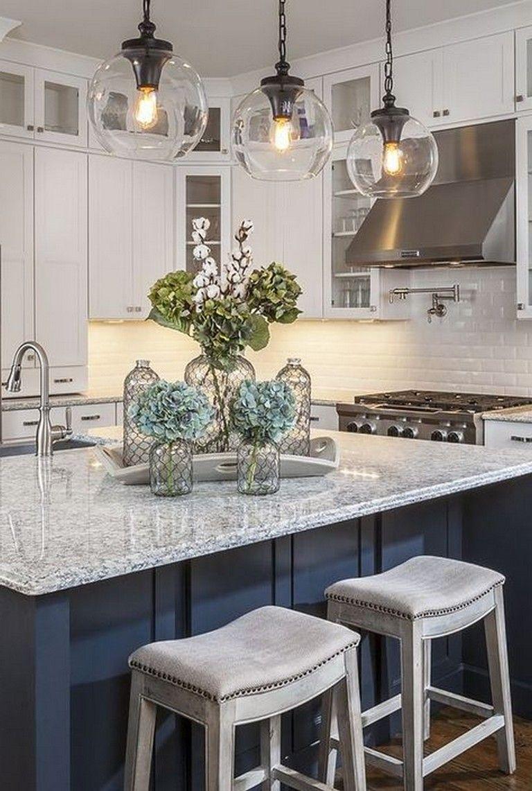 24 Distinctive Pendant Lights For Kitchen Island Gives You Wow Factor Kitchens Kitcheni Kitchen Counter Decor Kitchen Remodel Countertops Kitchen Renovation