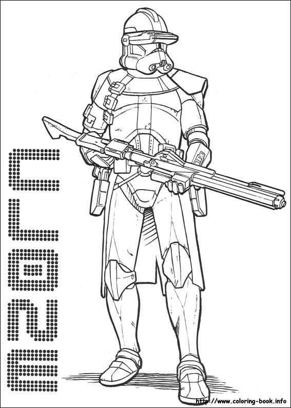 Star Wars coloring picture | Kids coloring | Coloring pages, Star ...