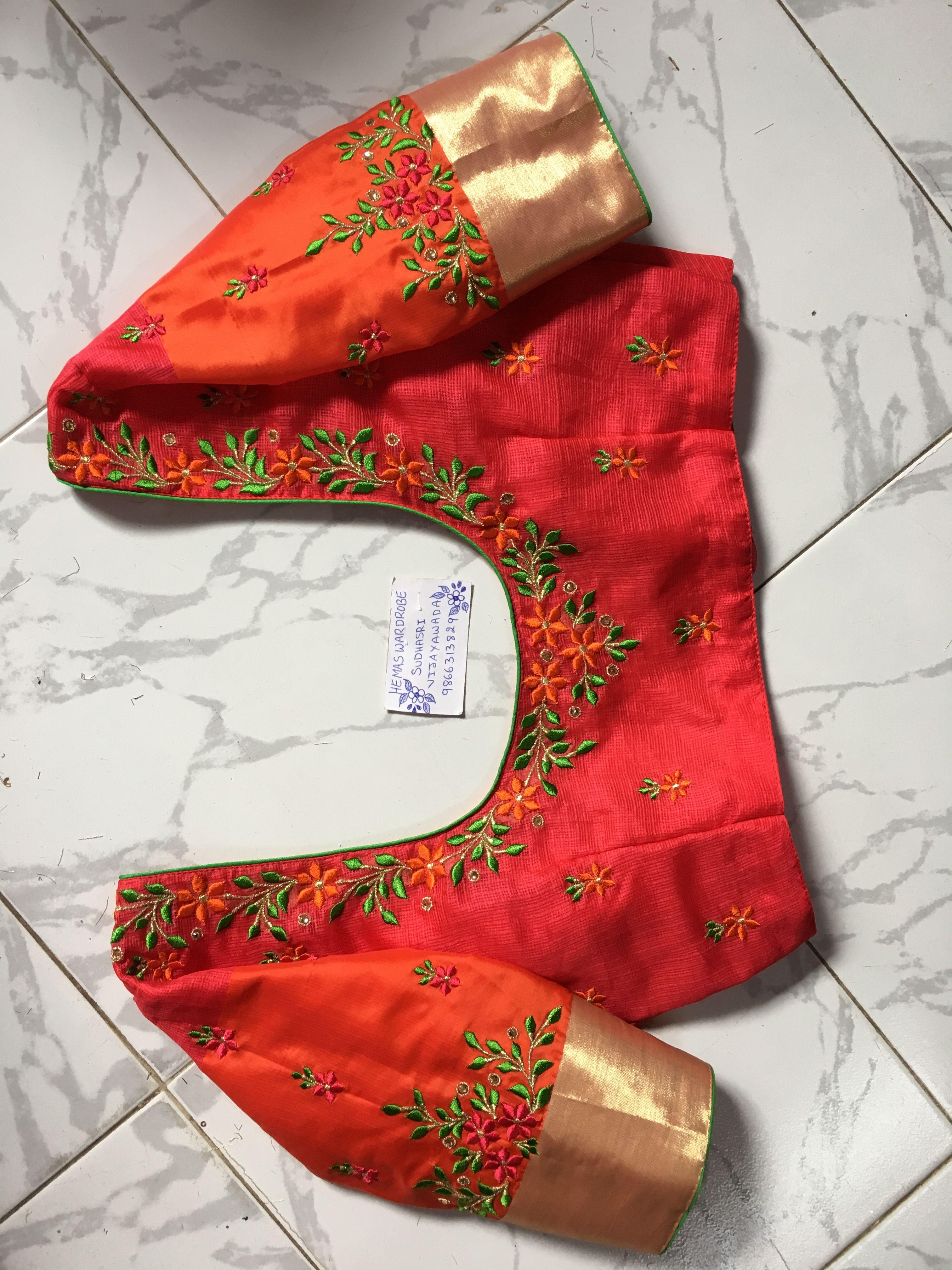 Sudhasri Hemaswardrobe Embroidery Blouse Designs Fashion Blouse Design Blouse Work Designs,Boutique Fashion Designer Studio Interior