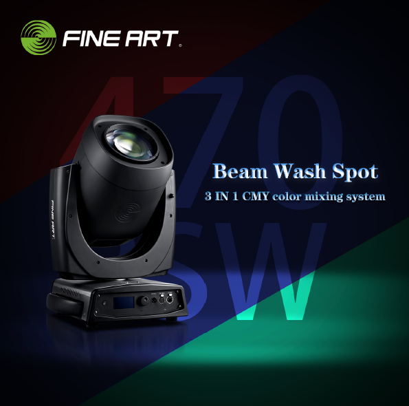 Fine Art Lighting 470 Bsw Beam Spot Wash In 1 Moving