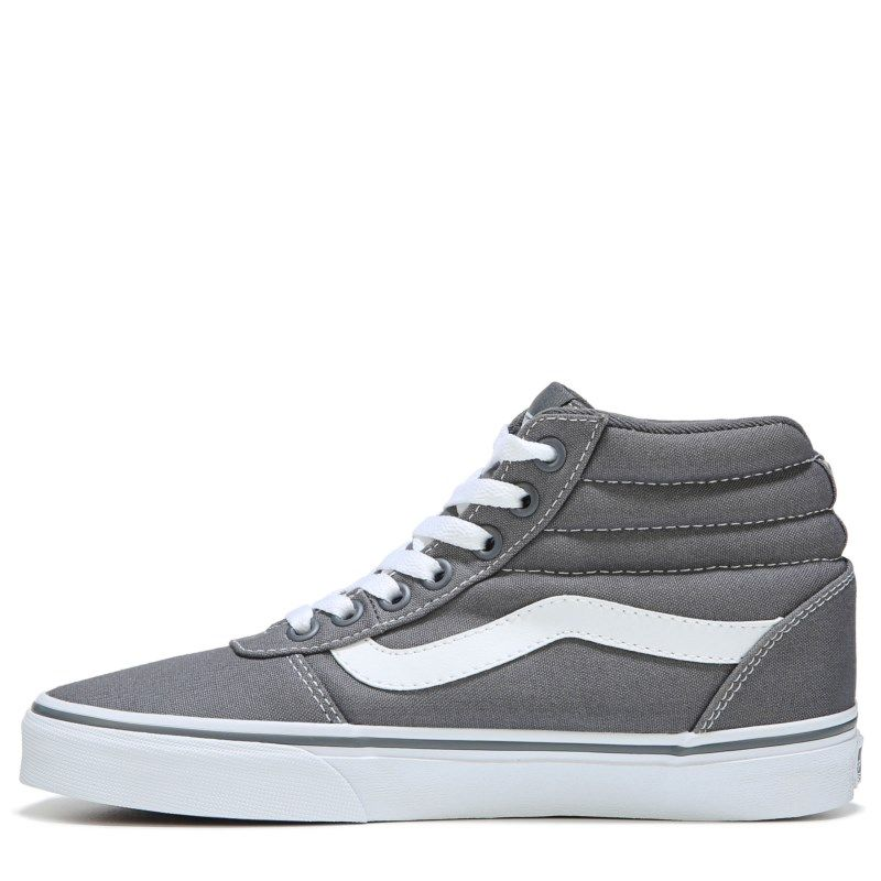da3f5586a591 Vans Women s Ward High Top Skate Shoes (Castlerock Grey)