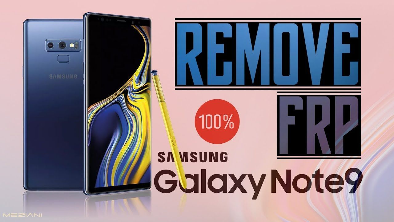 Bypass Google Account SAMSUNG GALAXY NOTE 9 Without Computer Last
