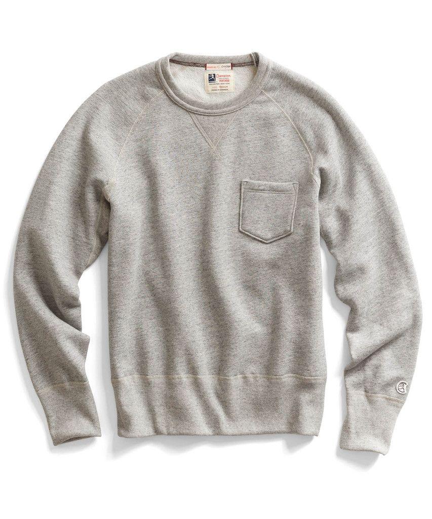 50eaf804a15a Todd Snyder x Champion gray crewneck sweatshirt | My Style | Vintage ...