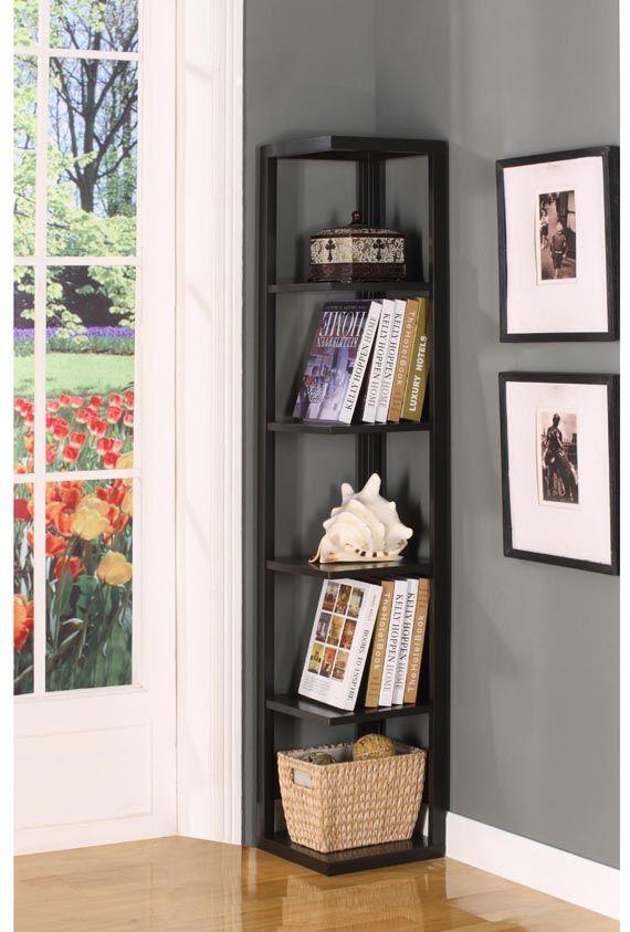 Corner Shelves Design Functional Home Furnitures Nenonk Com Corner Shelf Design Corner Bookcase Home Furniture