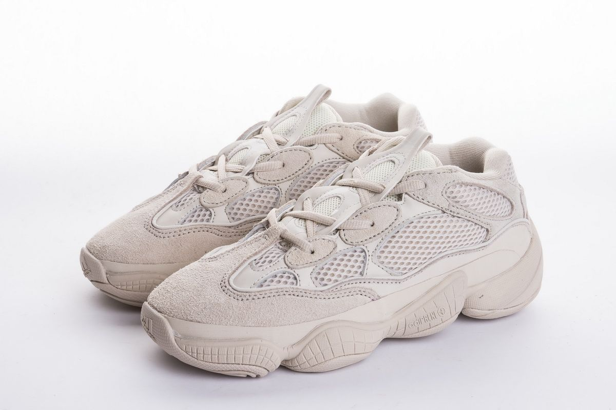 386cabca2f96a Adidas Yeezy 500 Blush DB2908 Grey Real Boost3 This adidas Yeezy 500 comes  dressed in Blush all-over. In addition they feature a mesh
