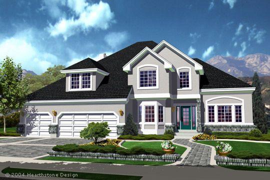 Plans Details :: Plan #TS-2945a - Hearthstone Home Design | House ...