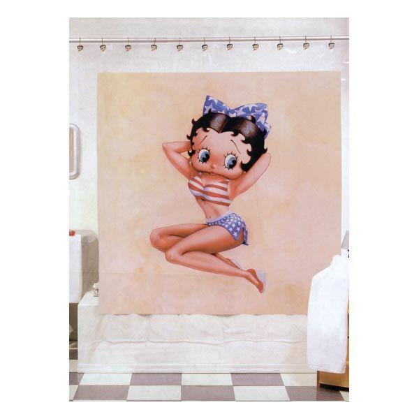 betty boop shower curtain. Betty Boop shower Curtain  bath accessories Pinterest boop