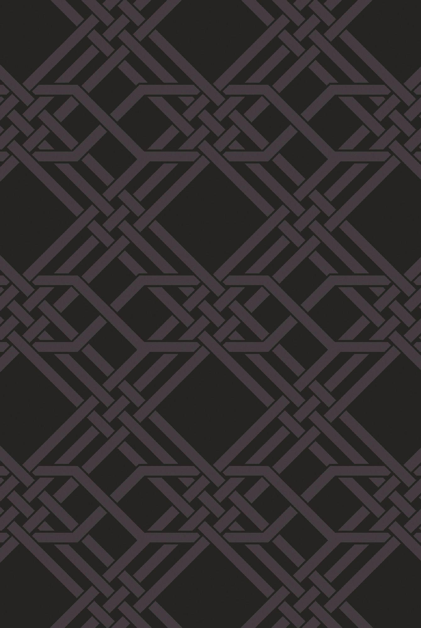 Romulus Hand-Loomed Black Area Rug