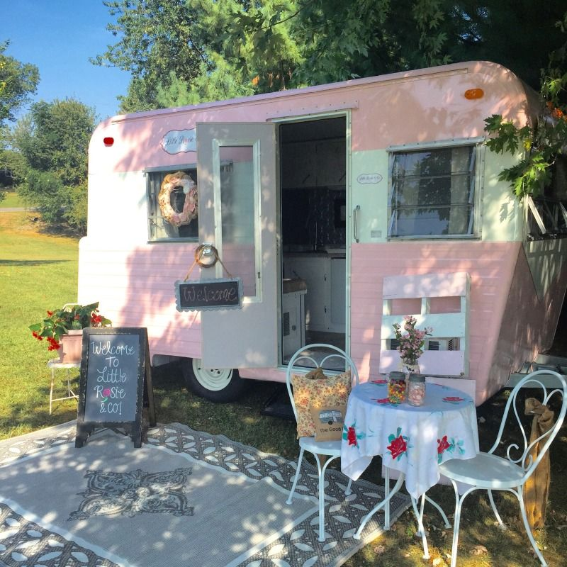 Local Hairstylist Turns 600 Camper Into Traveling Beauty Salon