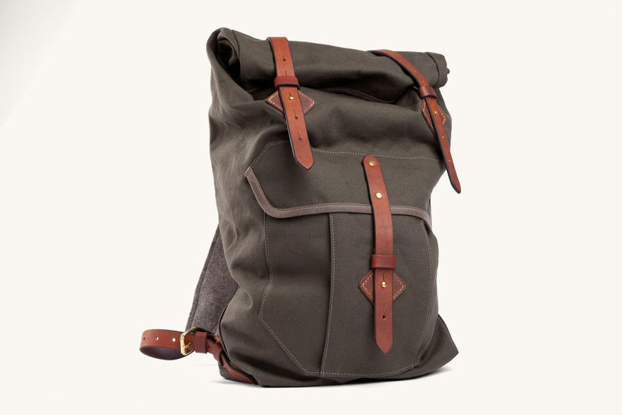 The Wilderness Rucksack From Tanner Goods In New Colors. http://www.selectism.com/2014/08/20/the-wilderness-rucksack-from-tanner-goods-in-new-colors/