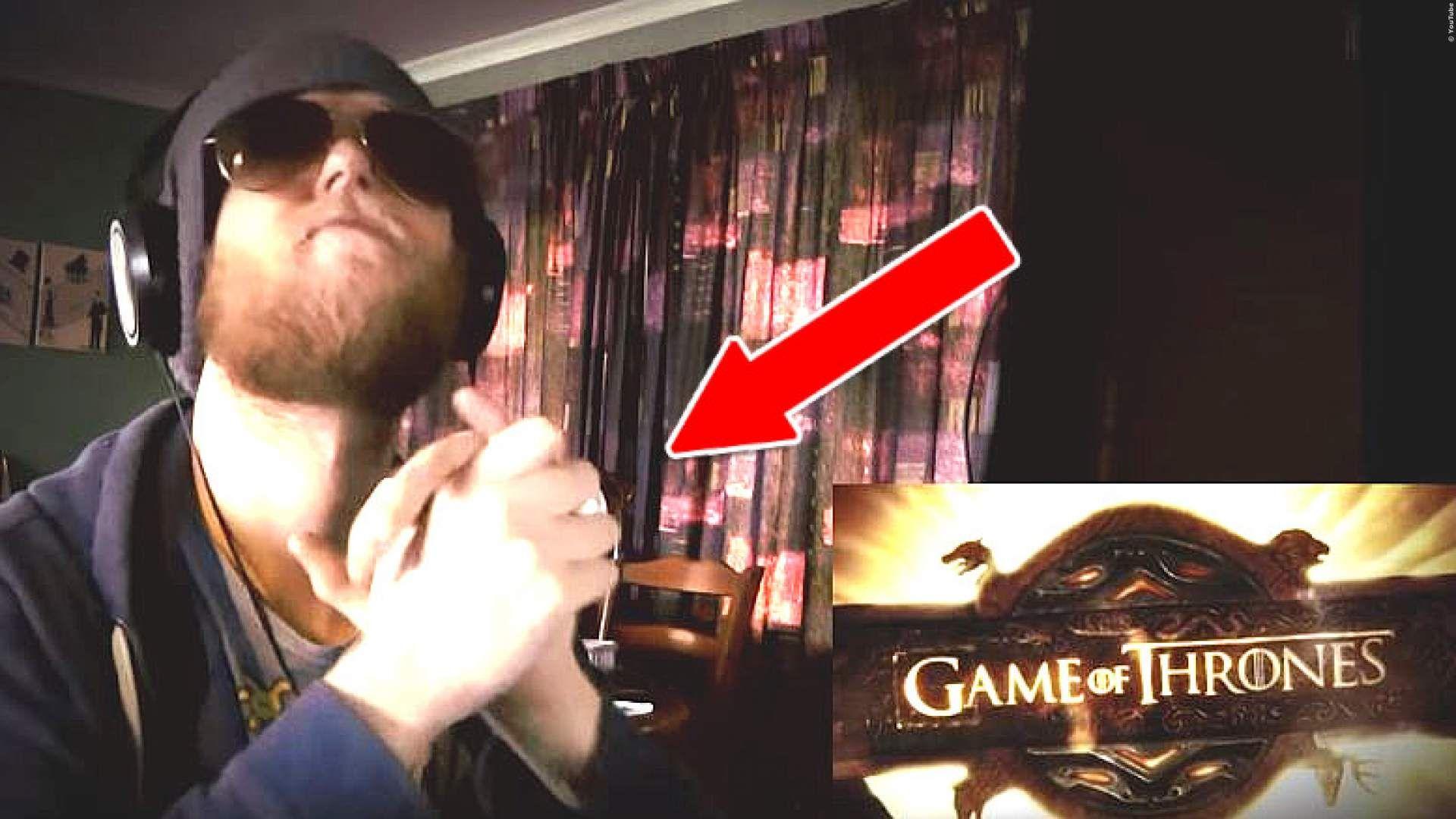 VIDEO Dieser Typ furzt 'Game Of Thrones' mit seiner Hand