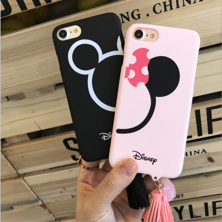 coque iphone 7 couple disney