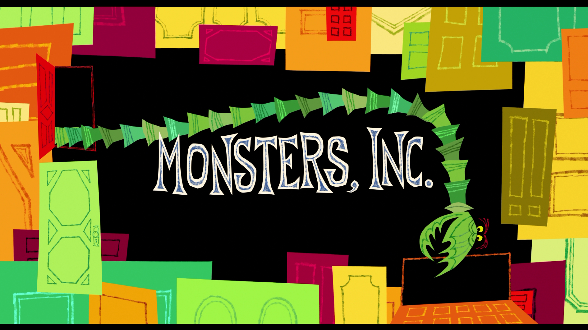Monster Inc Doors Images Google Search Title Sequence Movie Titles Pixar Films