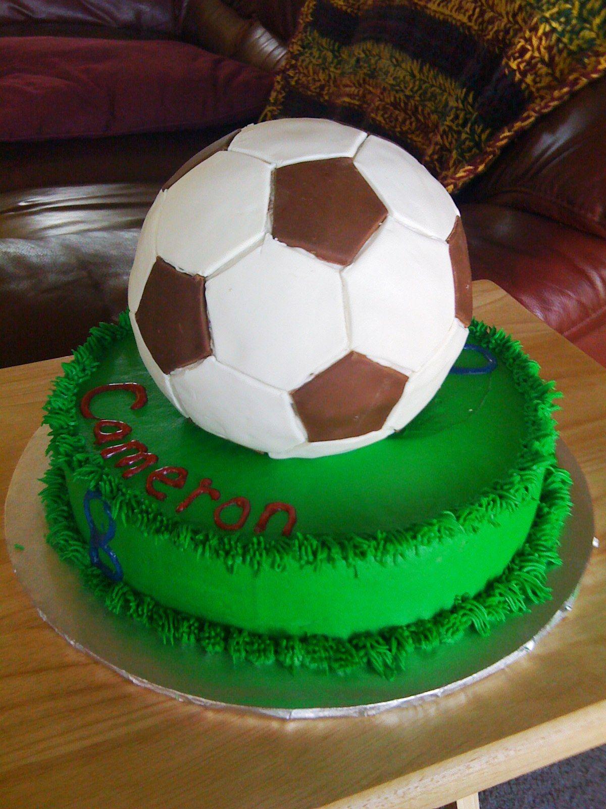 My Cakes Soccer Ball Wilton Ball Cake Pan 10 Pan Choco Pan Fondant Bright White And Dark Chocolate Using Hexago Decorator Icing Soccer Cake Icing Tips
