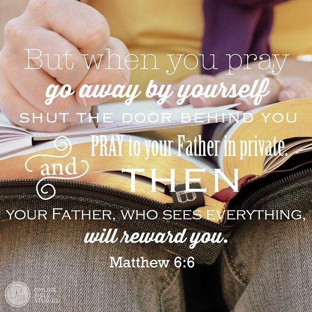 Matt 6:6