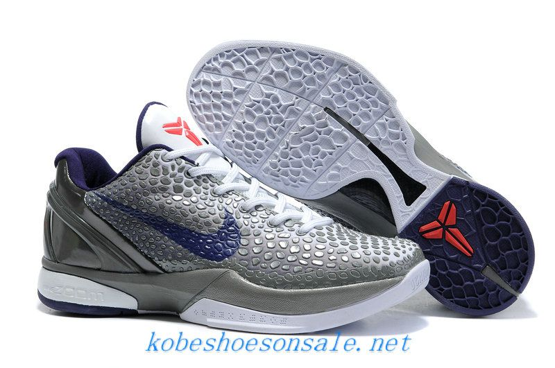sneakers for cheap 70075 cc22f Nike Zoom Kobe 6 Basketball Shoes China Edition Metallic Grey