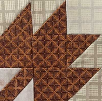 Maple Leaf Quilt block メープルリーフパターンの作り方 – Patchwork Quilt パッチワークミシンキルトNakazawa Felisa 中沢フェリーサ