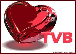 Auguri di buon compleanno e non solo: Cuore rosso e TVB