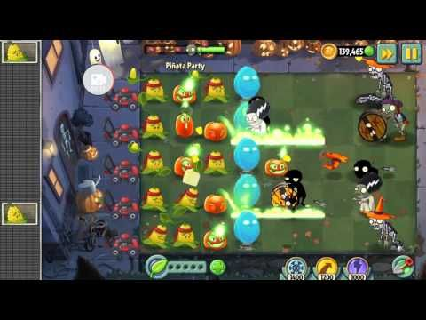 Plants vs Zombies 2 Lawn Of Doom Jack O' Lantern | WORD OF THE DAY