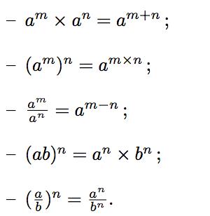 Www Mathsbook Fr Images Cours Proprietes Puissances2 Png Carte Mentale Maths Sciences Physiques Formules Mathematiques