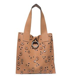 53095dbdce83 Janey Extra-Large Leather Tote by Michael Kors Popular Handbags