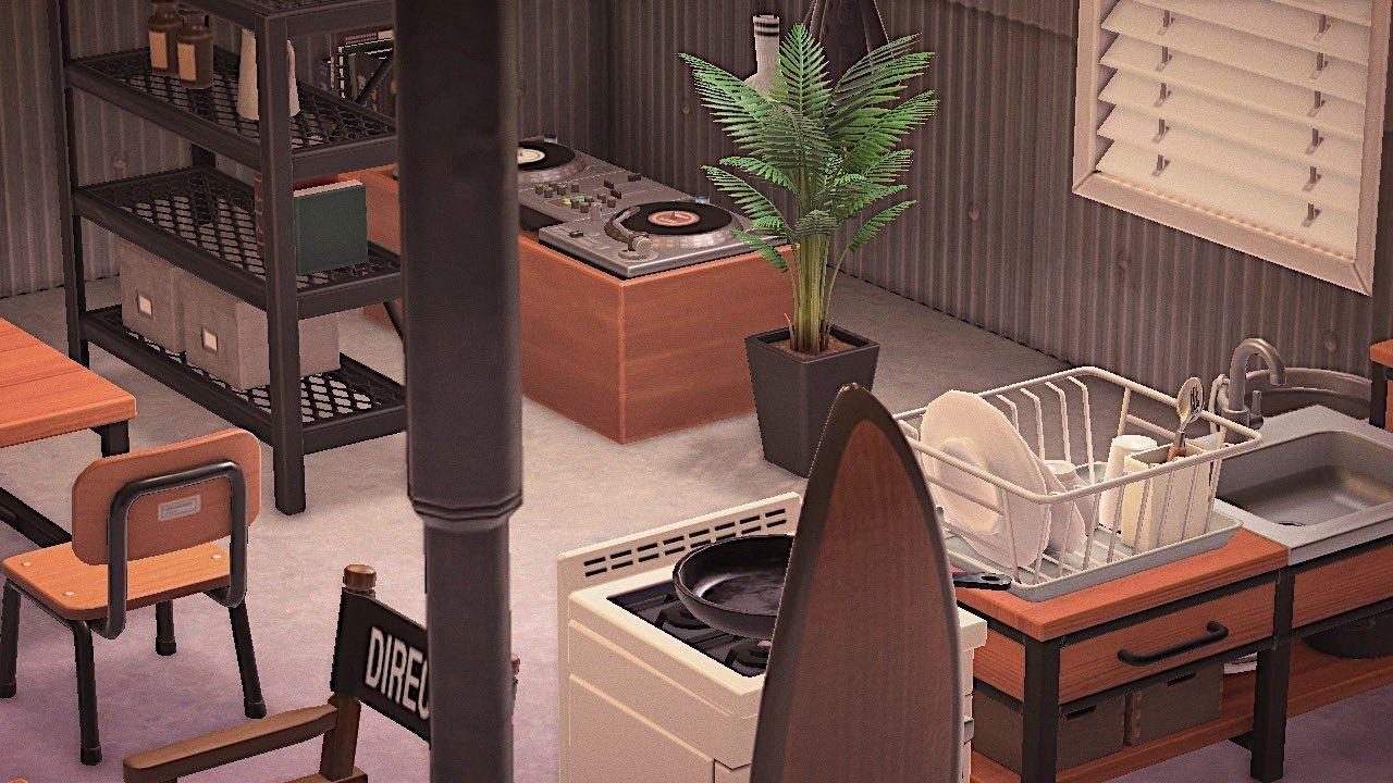 Mozuku On レイアウト どうぶつの森 カフェ