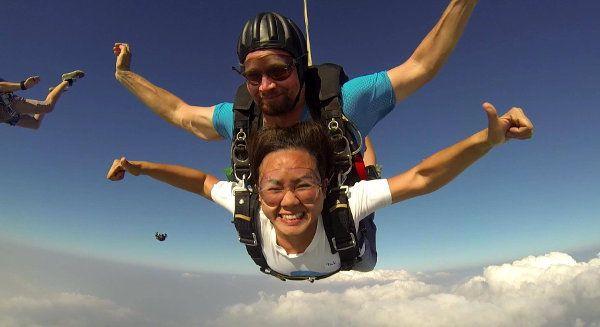 Tandem #Skydiving #Pattaya Book Now Best Price Guarantee