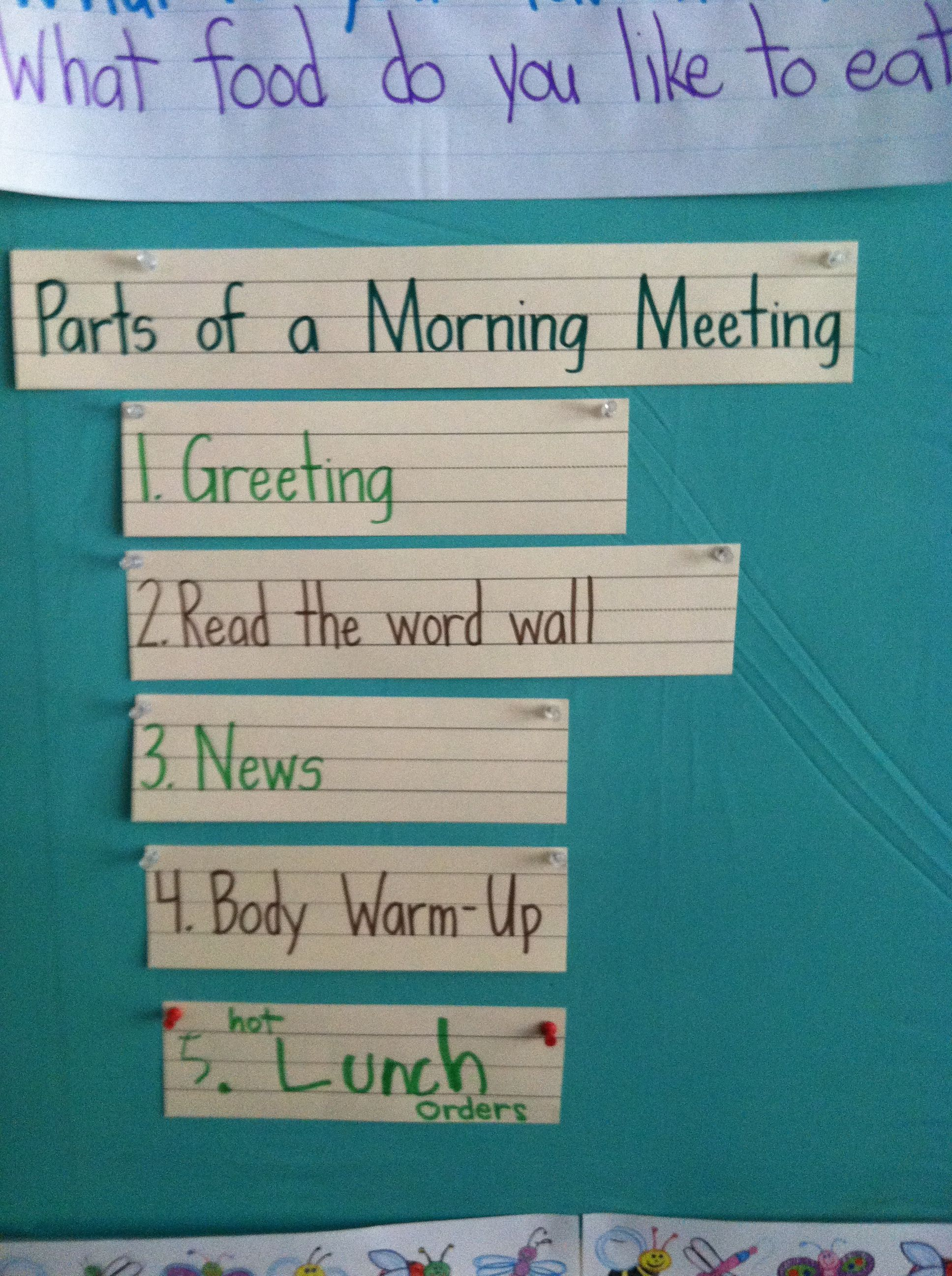 Pin by Amber on beginning of school year Morning meeting
