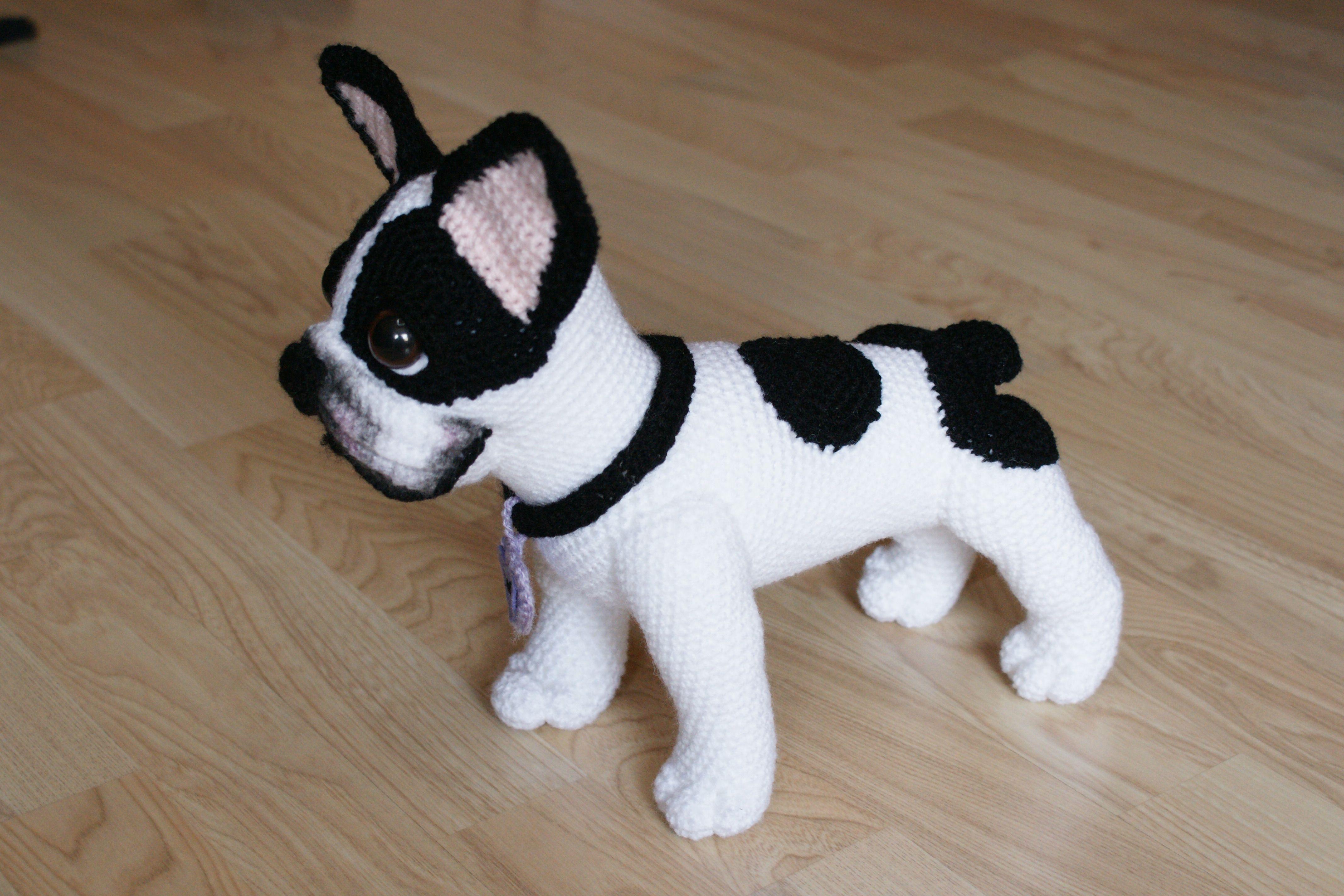 bulldog #frenchie #amigurumi #handmade #hechoamano #frenchbulldog ...