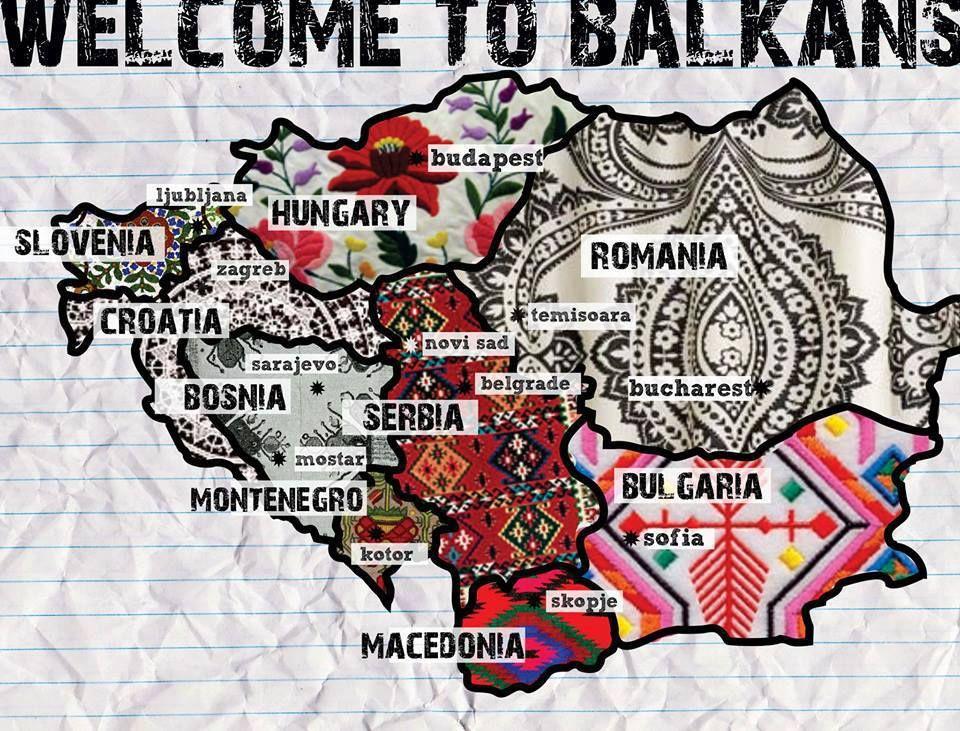 Pin By Croatia Islands On Destinations Balkan Balkan Peninsula Serbia