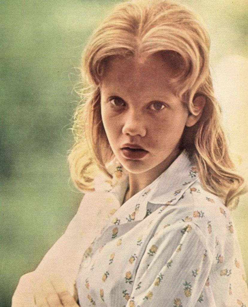 English actress Hayley Mills, currently appearing at the