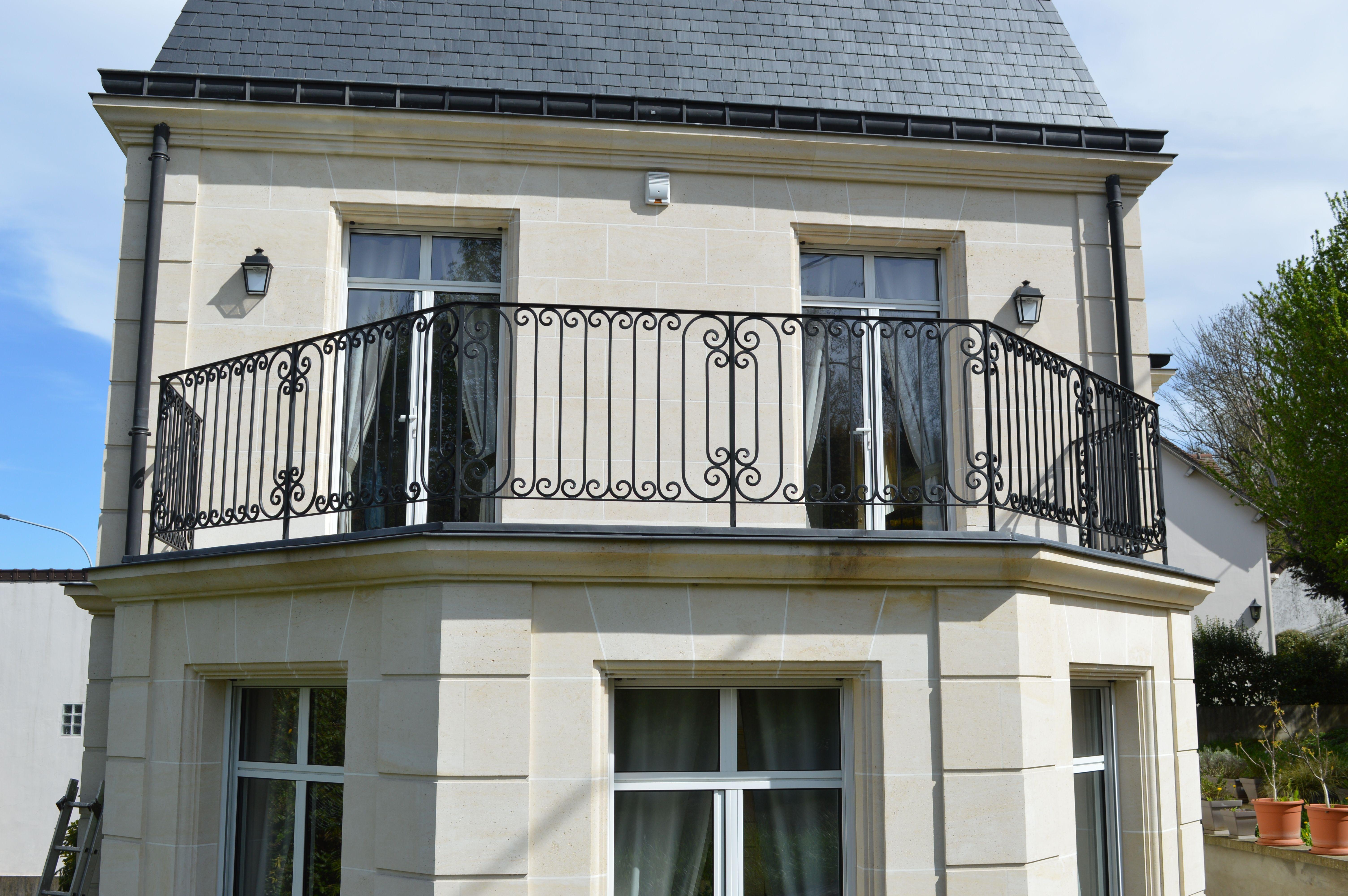 Terrasse Bois Et Fer garde-corps en fer forgé de terrasse balcon maison mansarde