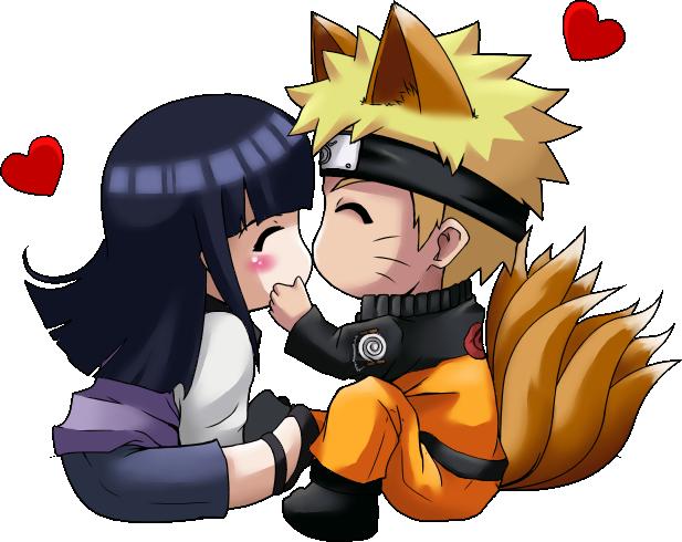 Fox Naruto And Hinata Chibi Naruto Naruto Hinata Naruto Uzumaki