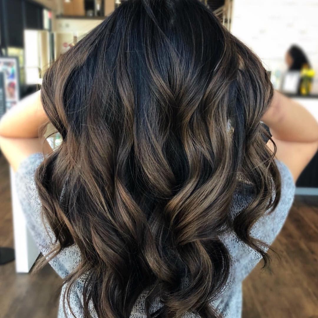 Smoky Caramel Balayage By Jessica Baylage Hair Balayage Hair Dark Chocolate Hair Color