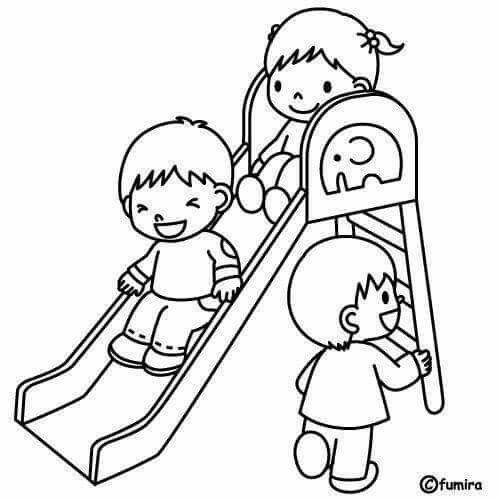 اليوم العالمي للطفل Con Imagenes Dibujo De Ninos Jugando