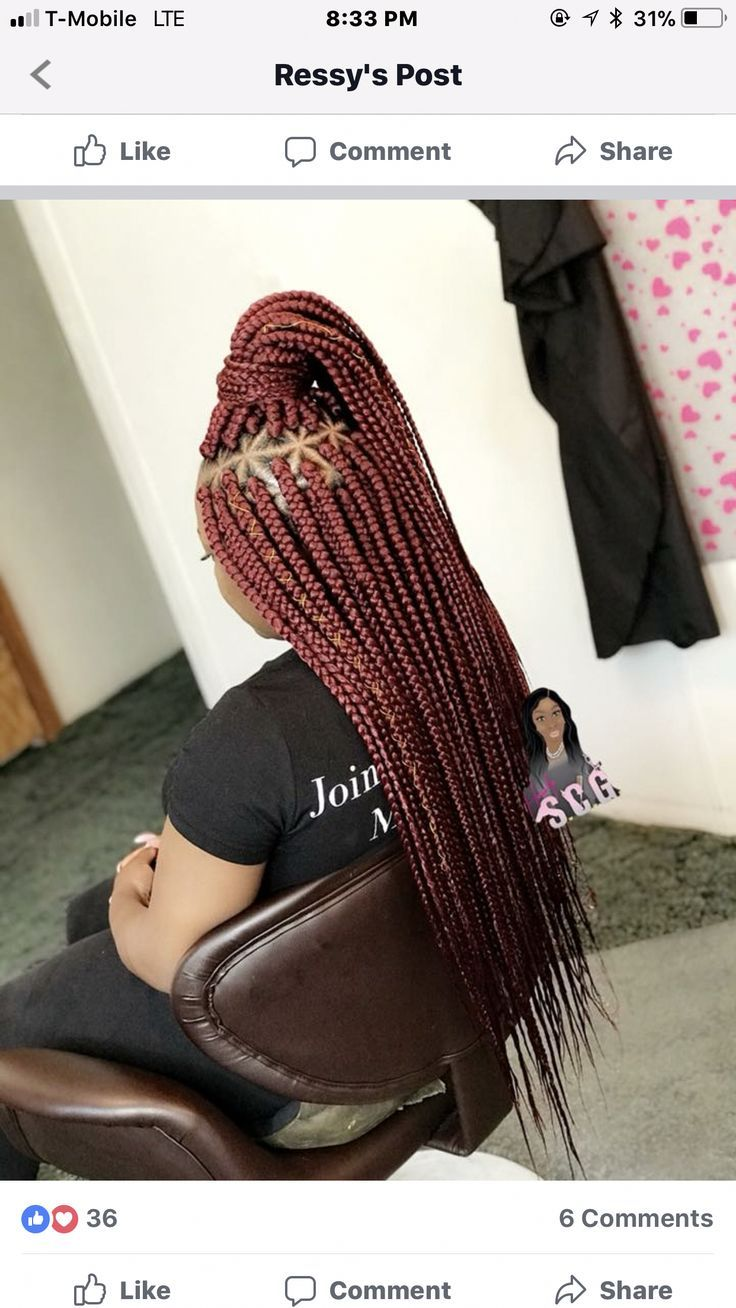 Long Box Braids @GGTHEBLOG #colorfulboxbraids #longboxbraids