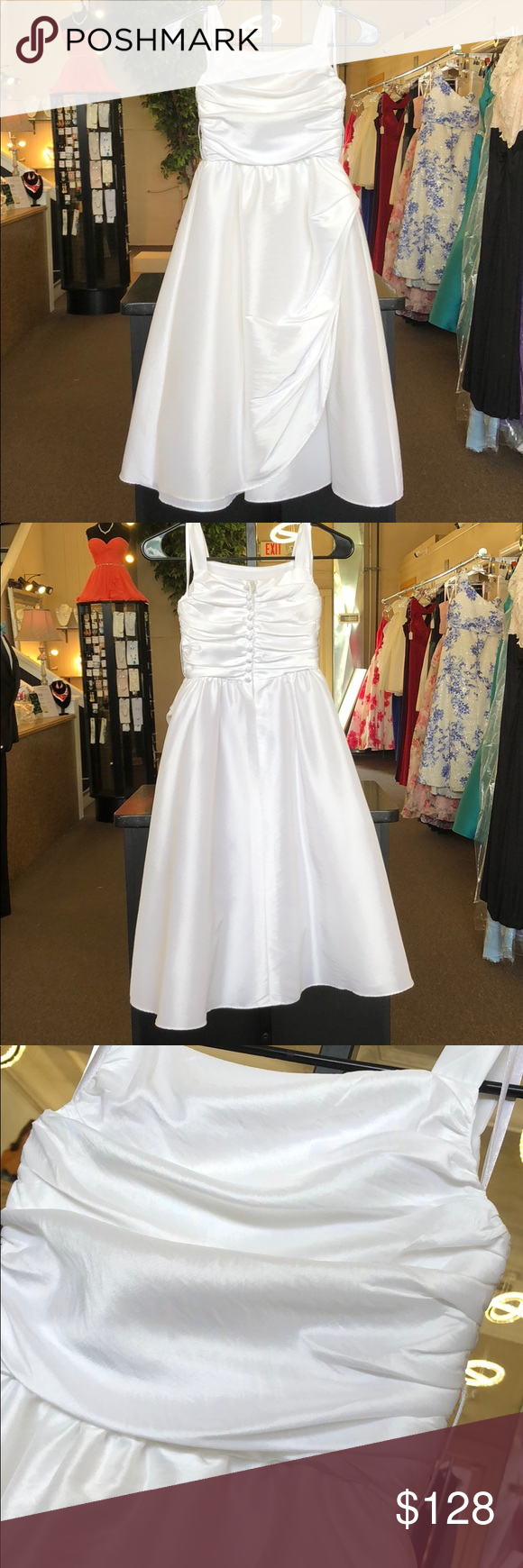 Kids white formal dress boutique in my posh closet