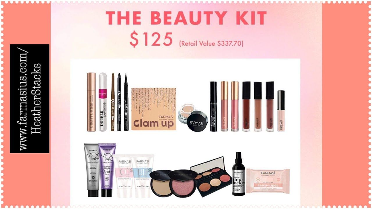 Farmasi Beauty Kit 125 For 23 Products Over 330 Value Youtube In 2021 Beauty Kit Farmasi Kit Farmasi Beauty Influencer