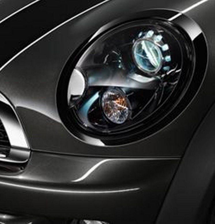 Oem Mini Cooper Black Line Headlight Rings Set Bundle Left Right R56 R57 R58 R59 Mini Cooper Black Headlights Mini