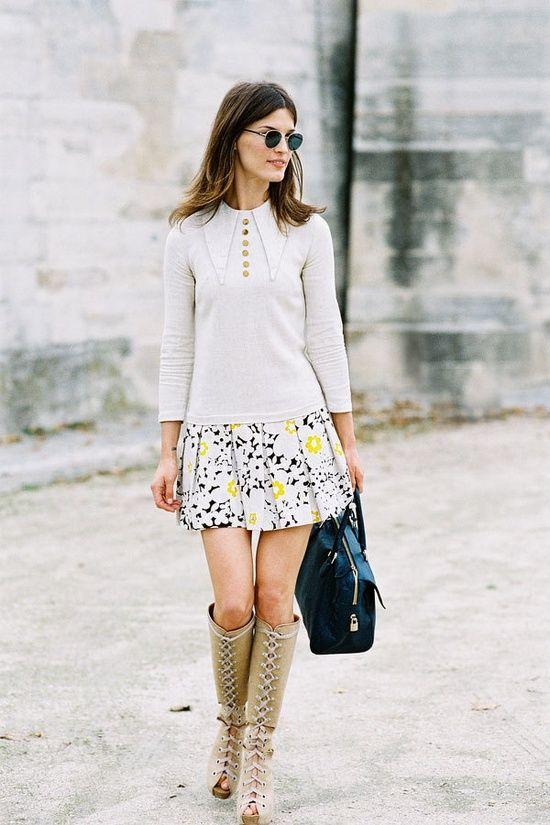 Me gusta la falda!