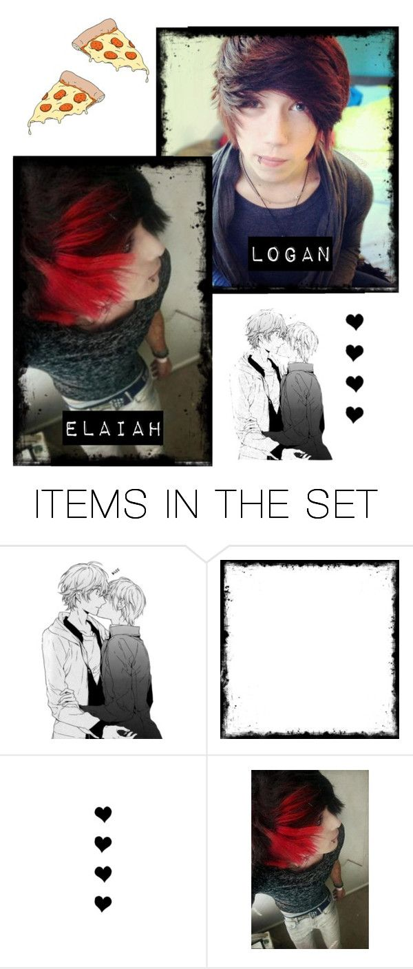"""Taken: -chuckles- Thanks, pizza. ¤Elaiah¤"" by lukeimbatman ❤ liked on Polyvore featuring art"